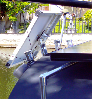Solar Fishing Pole 30w 12vdc Battery Charger E Marine