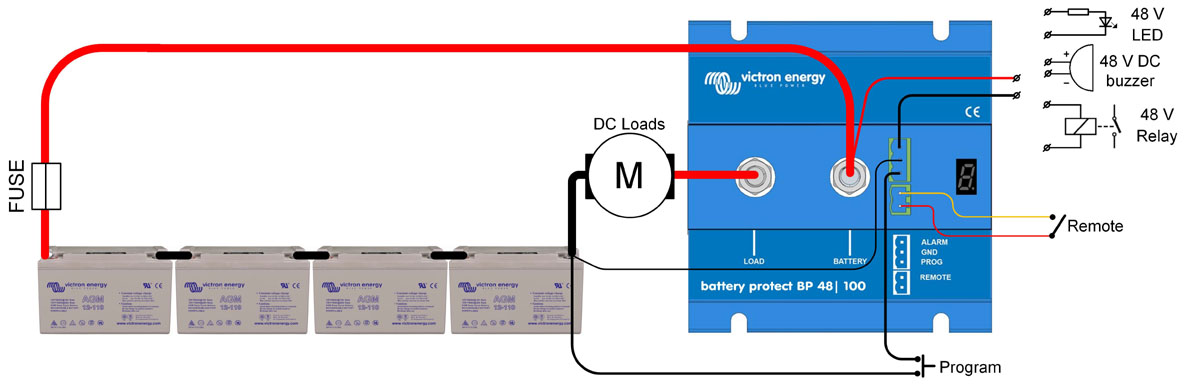 Battery Protector E Marine Systems. Connection Diagram Of Bp 48100. Wiring. 48 Volt System Wiring Diagram At Eloancard.info