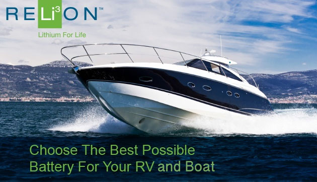 Relion Batteries For Boats and RV's