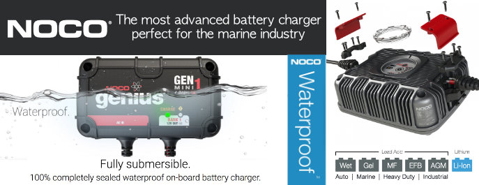 NOCO Waterproof Battery Chargers