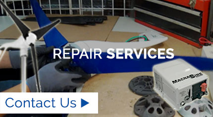 Wind Turbines & Inverters Repair Services