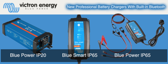 Victron Blue Power and Blue Smart Battery Chargers