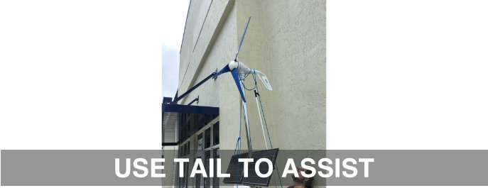 USE TAIL TO ASSIST