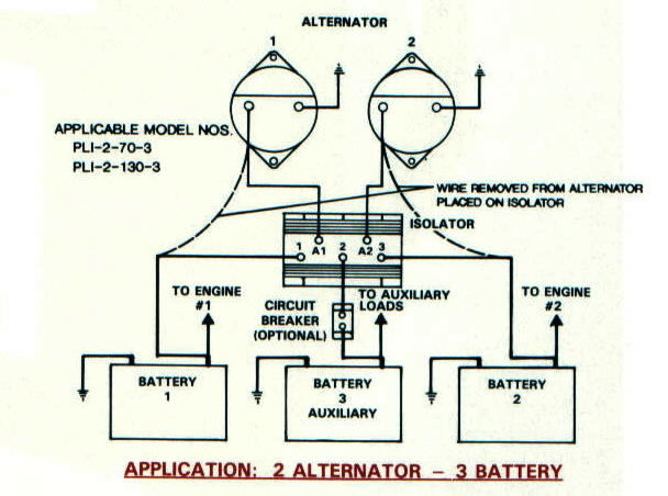 iso2alt3bat battery isolators e marine systems marine alternator engine wiring diagram at honlapkeszites.co