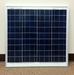 55W 12V Solar Panel Fixed Frame - SOL50055
