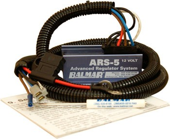 Balmar ARS-5-H 12V Regulator with Harness Balmar ARS-5-H 12V, Balmar ARS-5-H, ARS-5-H regulator