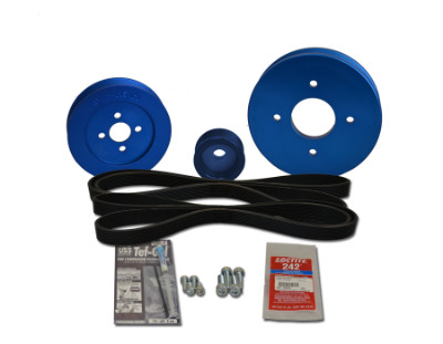 Balmar AltMount Serpentine Pulley Conversion Kit 48-YSP-3GM-B Balmar AltMount Serpentine Pulley Conversion Kit 48-YSP-3GM-B, Balmar Serpentine Belt Kit 48-YSP-3GM-B