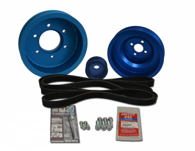 Balmar AltMount Serpentine Pulley Conversion Kit 48-YSP-4JH-D Balmar AltMount Serpentine Pulley Conversion Kit 48-YSP-4JH-D, Balmar Serpentine Belt Kit 48-YSP-4JH-D