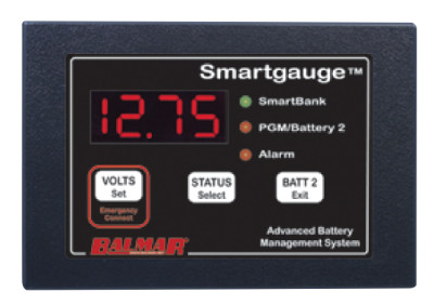 Balmar Smartgauge 44-SG-12/24 Battery Monitor Balmar Smartgauge 44-SG-12/24 Battery Monitor