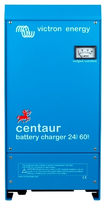Centaur 60A/24V/3Bank Battery Charger   Victron, Centaur, CCH024060000, Battery Charger, 24V, 60A, 3 Bank