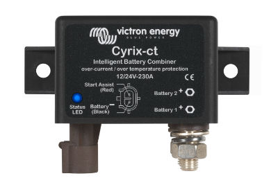Cyrix-ct 12/24V 230A Battery Combiner Cyrix-ct 12/24V 230A Battery Combiner