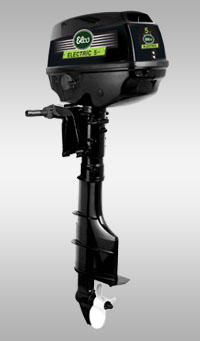 Elco 5HP 3.7kW 48V Electric Outboard EP5RL Elco, Electric Outboard, Electric Motor, EP-5, EP5RL, 5 hp