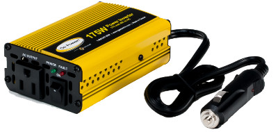 Go Power 175W 12V - 24V Modified Sine Wave Inverter Go Power 175W 12V - 24V Modified Sine Wave Inverter, GP-175