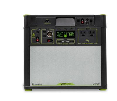 Goal Zero Yeti 3000 V2 Lithium 110v E Marine Systems