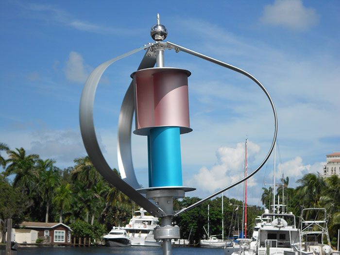 Maglev 300w Vertical Axis Wind Turbine System Cxf 300