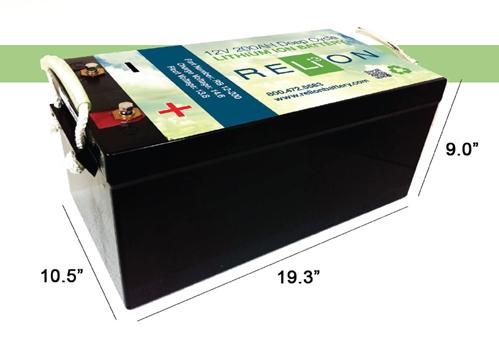 Relion Rb 200 12v 200ahr Lithium Ion Battery Storename