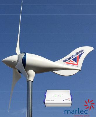 Rutland 1200 Wind Turbine 500 Watt E Marine Systems