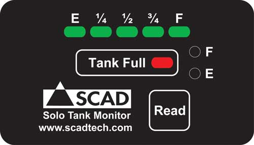 SCAD SOLO Tank Full Monitor System SCAD SOLO Tank Monitor, SCAD SOLO