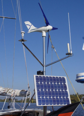 Silentwind Wind Generator 12 Volt E Marine Systems