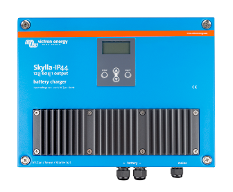 Skylla IP44 60A/12V/1 Bank + 1 Aux Battery Charger   Victron, Skylla IP44, SKY012060000, Battery Charger, 12V, 60A, 1Bank + 1 Auxiliary