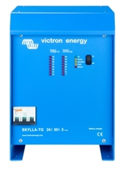 Skylla-TG 50A/24V/3-phase 1 Bank + 1 Aux Battery Charger Victron, Skylla TG, STG024050300, Battery Charger, 24V, 50A, 1Bank + 1 Auxiliary, 3-phase