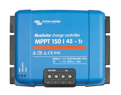 Victron Energy MPPT Charge Controllers 150/45 Tr (12/24/48V-45A) Victron MPPT 150/45, SCC010045200