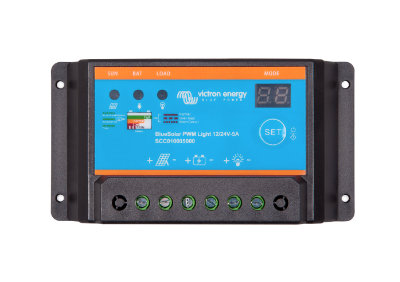 Victron Energy BlueSolar PWM-Light Charge Controllers 12/24V Victron Energy BlueSolar PWM-Light Charge Controllers