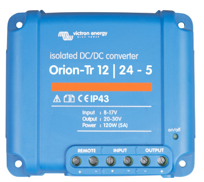 Victron Energy Orion-Tr 24//12-9A 110W ORI241210110 Isolated DC-DC