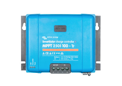 Victron Energy SmartSolar MPPT Charge Controller 250/100 Tr (12/24/36/48V 100A) Victron Energy SmartSolar MPPT Charge Controller 250/100 Tr