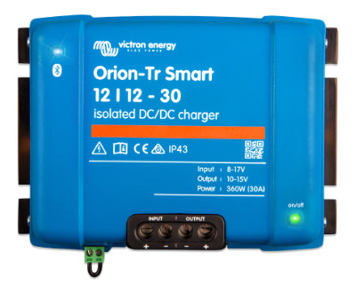 Victron Orion-Tr Smart DC-DC Charger Isolated 12V Victron Orion-Tr Smart DC-DC Charger Isolated 12V