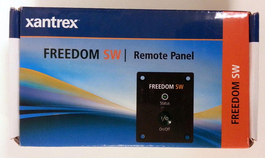 Xantrex Remote Panel For Freedom Sw 808 9002 E Marine