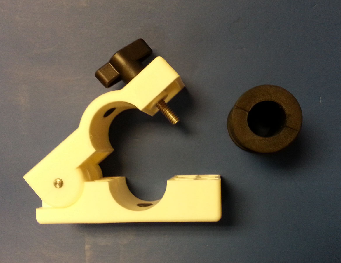 75 Quot 1 25 Quot Adjustable Rail Clamps Pair E Marine Systems