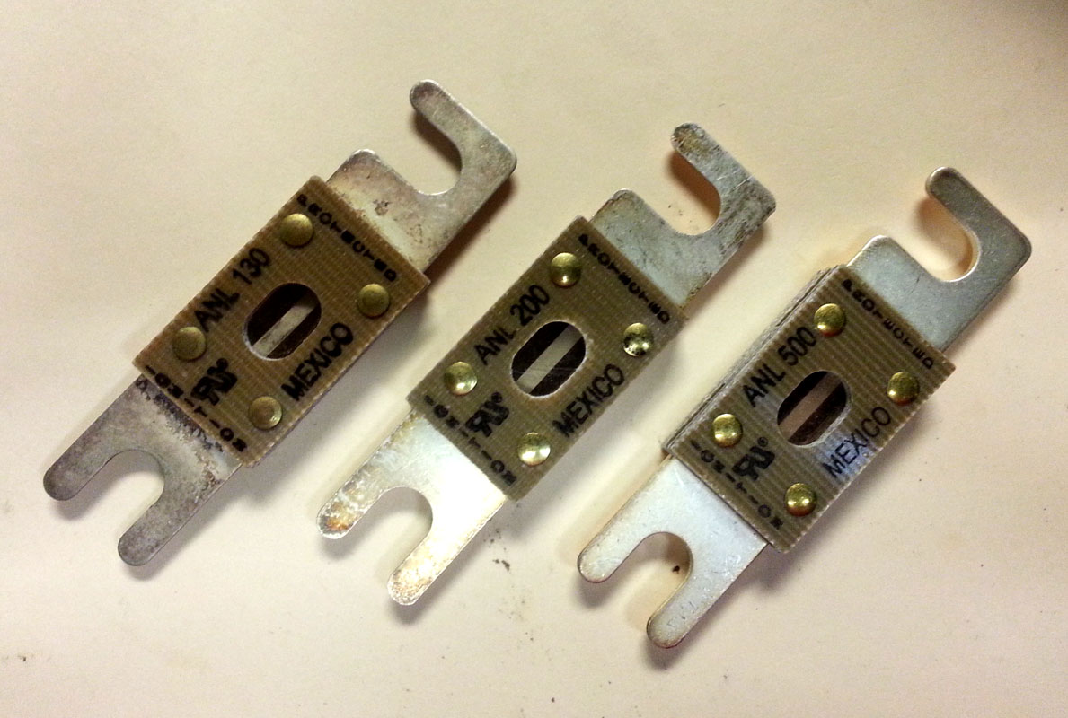 Anl Fuse From 80amp To 500amp E Marine Systems