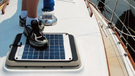 Ganz Gsp 80 Marine Grade Solar Panel 83 Watt E Marine