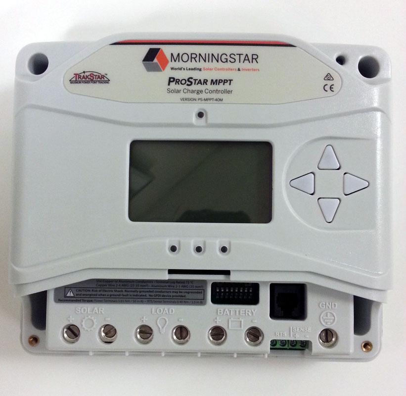 Morningstar Prostar Mppt Solar Charge Controller E