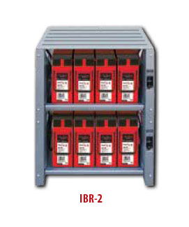OutBack Integrated Battery Rack System 2-Shelf