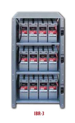Outback Integrated Battery Rack System 3 Shelf E Marine