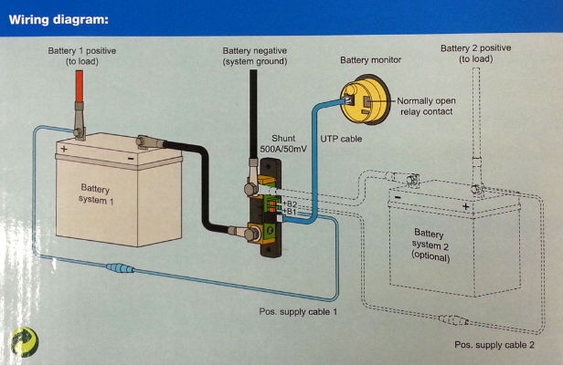 Victron Battery Monitor Bmv Wiring Diagram on Dual Battery Wiring Diagram