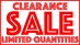 Clearance Items - CLEARANCE