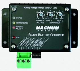 Magnum Smart Battery Combiner ME-SBC Magnum battery combiner, ME-SBC, Smart Battery Combiner