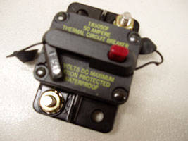 70 Amp Surface Mount Circuit Breaker 70 Amp, Surface Mount, Circuit Breaker