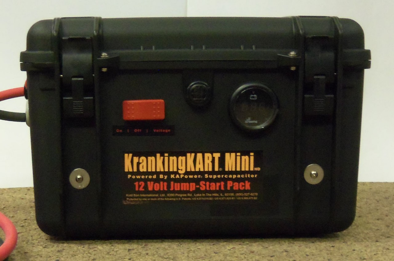 Kapower Krankingkart Mini Hd Jump Start Cart 30 Second Recharge Provides Full Cranking Power