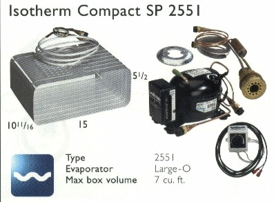Isotherm 2551 SP Large-O 7 cf System