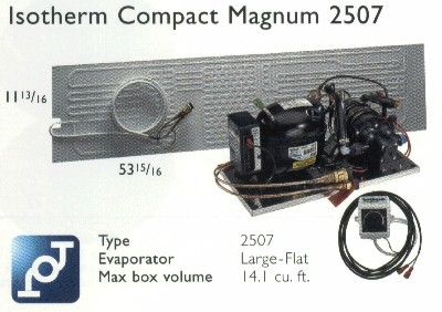Isotherm 2507 Magnum Compact Water Cooled