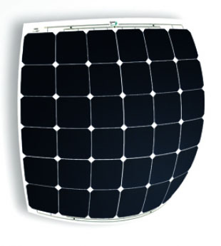 Solbian 145w Flexible Solar Panel Sxp145jb Marine Grade
