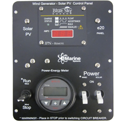 e20 Solar and Wind Control Panel 12 Volt 25 Amp e20, Solar control panel, wind monitoring, solar and wind control panel