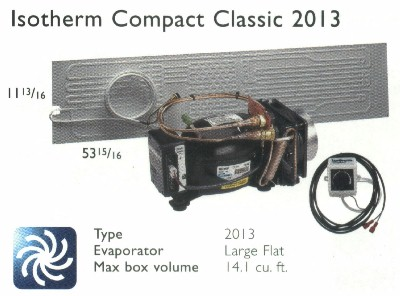 Isotherm 2013 L-Flat 14.1 cf Classic Air-Cooled