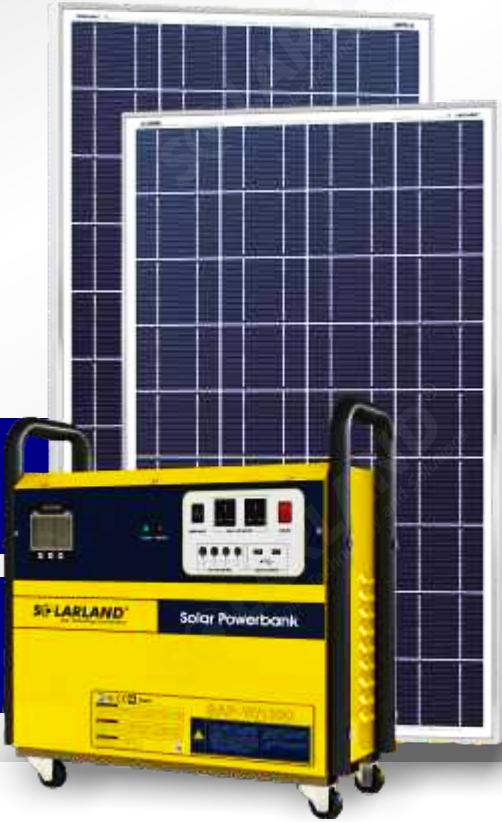 Solarland Solar Ac Powerbank 1000w Spb Aw 200 1000 E