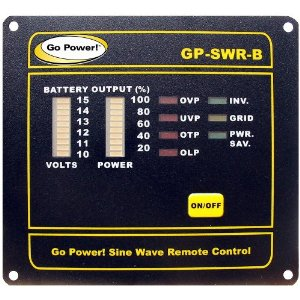 Go Power Remote 12V Go Power, Inverter, Power Inverter, remote, GP-SWR-B-12