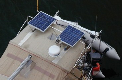 200 Watt Top of Bimini System (Dual 100W Panel) Bimini Kit, Solar Panel Kit for Bimini, 200W Solar Panel Kit
